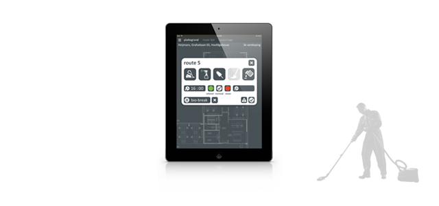 interface design on an iPad