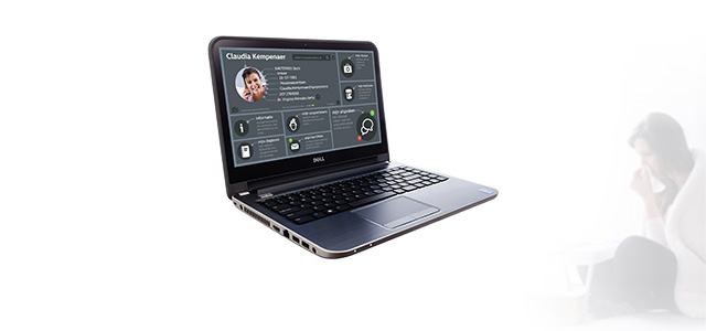 context image of the application on a laptop